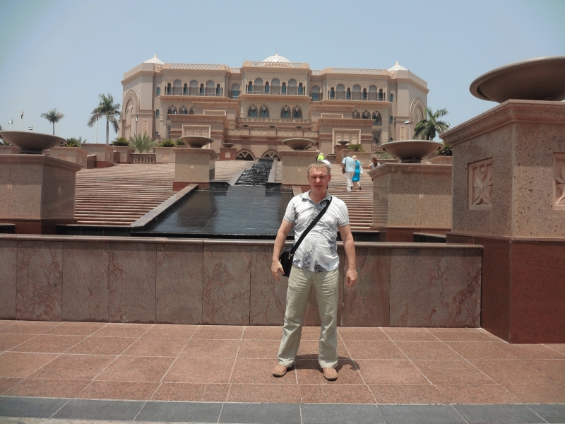 ОАЭ, Абу-Даби, отель Emirates Palace